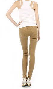 [시즌오프] 620 - Mid Rise Super Skinny In GINGER(진저)
